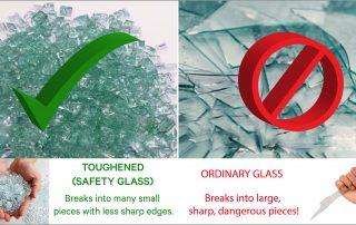 Toughened Glass VS Standard Glass