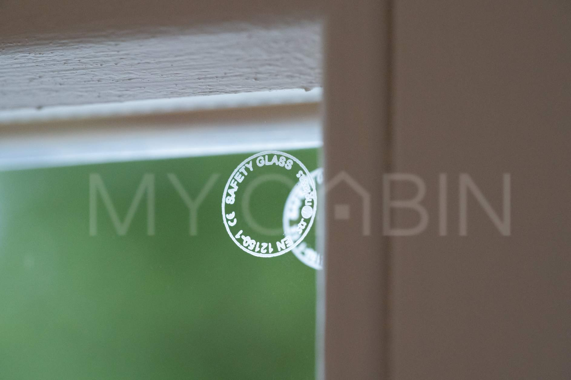 Toughened MyCabin Glass