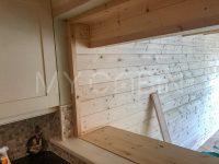 Log Cabin Extension Interior