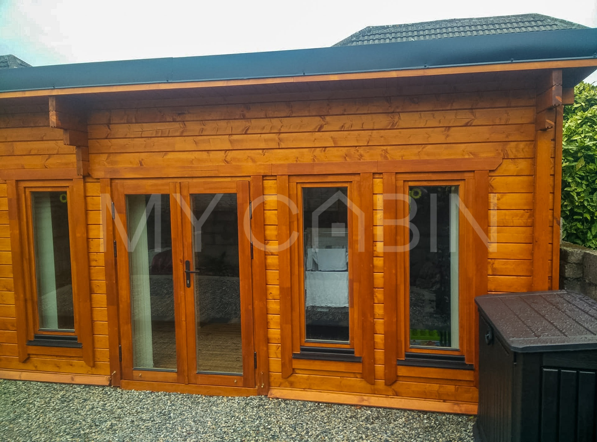 Log Cabin Extension Exterior
