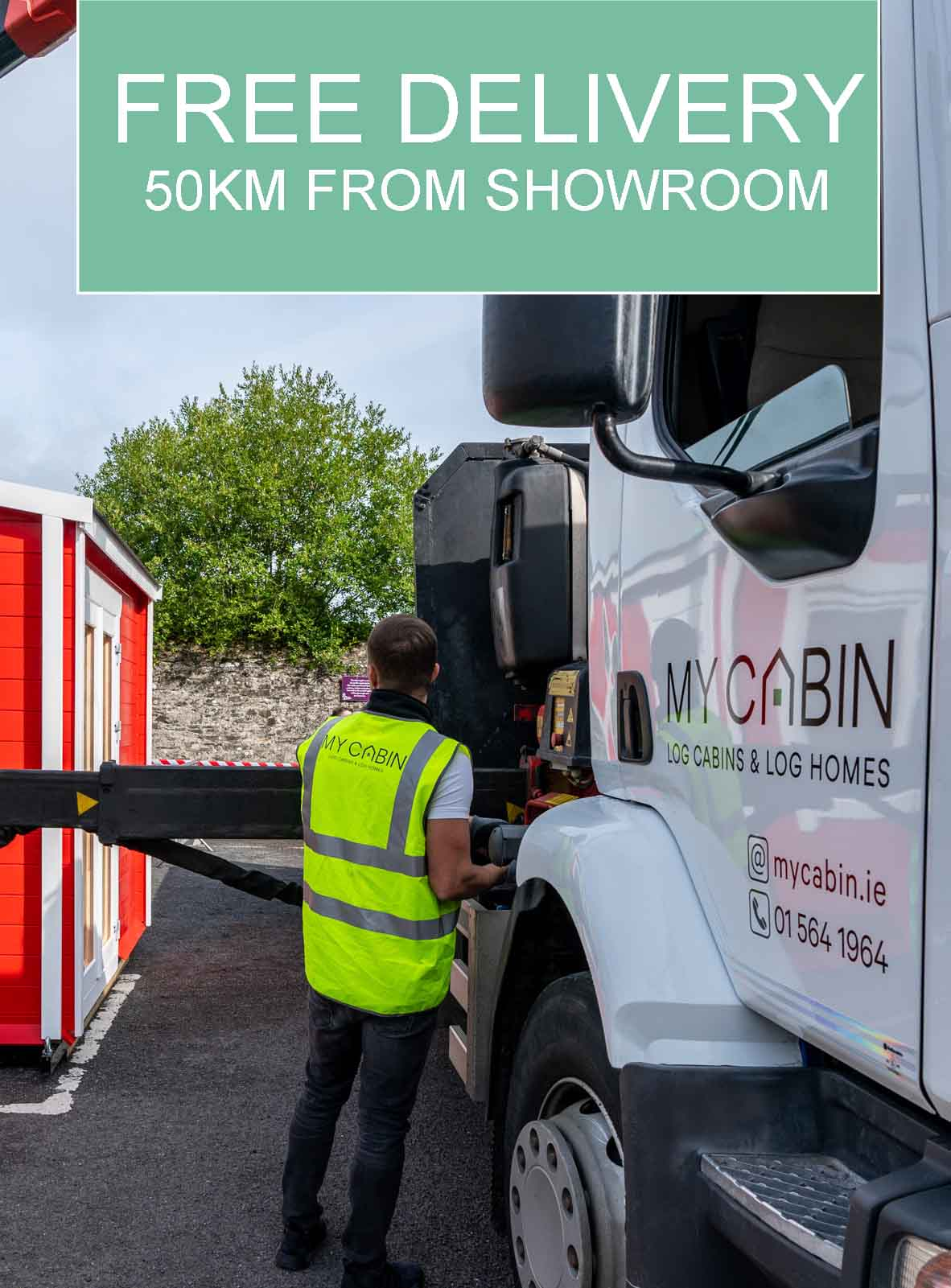 Mycabin Log Cabins and Log Homes Deliveries Dublin Cork