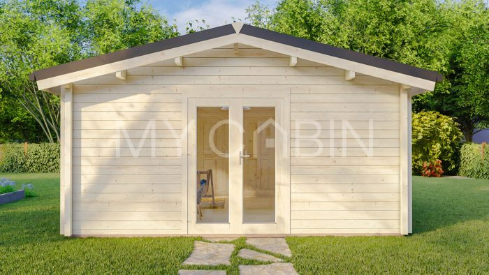 Budget Two Bed Log Cabin Log Home Exterior