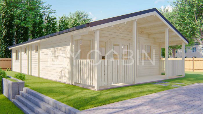 Three Bed A Log Cabin Exterior